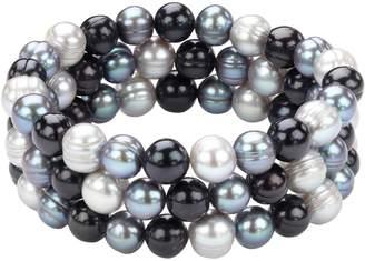 Honora Style Multi Tone Pearl Bracelet Set 3