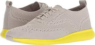 Cole Haan Women's 2.Zerogrand Stitchlite Sneaker Dove Knit/Sulpher Spruce 8 B US