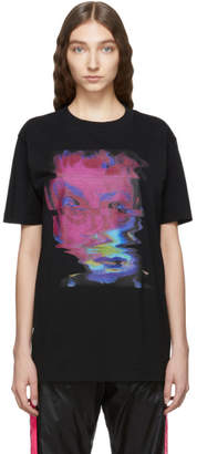 Marcelo Burlon County of Milan Black Graphic Child T-Shirt