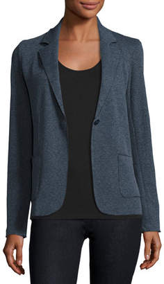 Neiman Marcus Majestic Paris for Cotton/Cashmere Knit Blazer