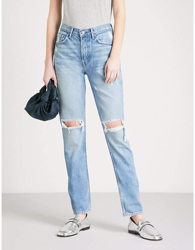 Karolina skinny high-rise jeans