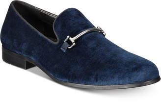 INC International Concepts I.n.c. Men's Harrow Velvet Smoking Slippers, Created for Macy's Men's Shoes