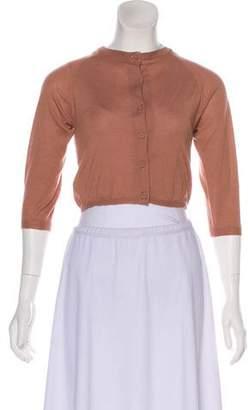 Marni Cashmere Short Sleeve Cardigan