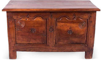One Kings Lane Vintage 19th-C. French Louis XIV-Style Trunk - Negrel Antiques