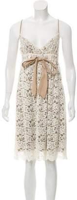 Diane von Furstenberg Sleeveless Lace Dress