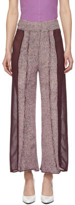 Eckhaus Latta Purple and Pink Evening Lounge Pants