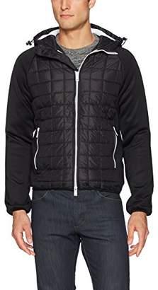 Armani Exchange A|X Men's Hooded Nylon Blouson Jacket