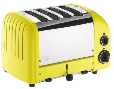 Dualit Citrus-Yellow NewGen 4-Slice Toaster