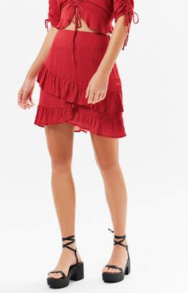 Lost + Wander Ay Caramba Ruffle Skirt
