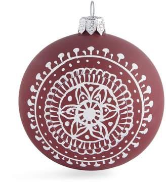 Harrods Pagan Circle Pattern Christmas Bauble