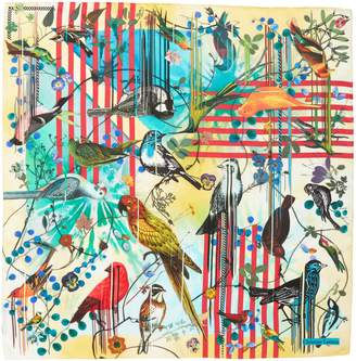 Christian Lacroix Sinfonia Silk Square Scarf