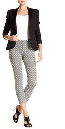 Amanda & Chelsea Patterned Crop Hem Pants