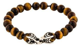 David Yurman Tiger's Eye Spiritual Beads Bracelet