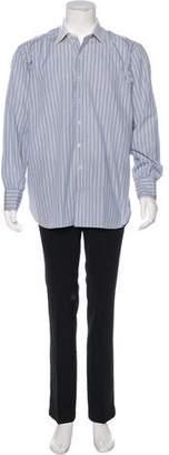Turnbull & Asser Striped Contrast Dress Shirt