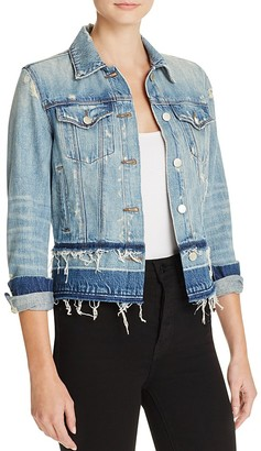J Brand Deena Denim Jacket in Arcane $248 thestylecure.com