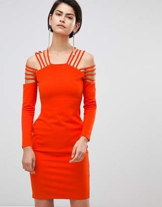 Forever Unique Strappy Shoulder Dress