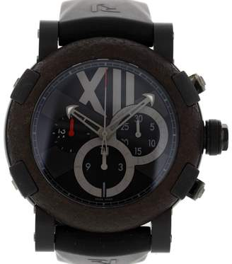 Romain Jerome Titanic DNA CH.T.OXY3.BBBB.00.BB Stainless Steel/Titanium & Rubber Automatic 50mm Mens Watch