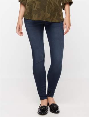 Luxe Essentials Denim Legging Maternity Jeans