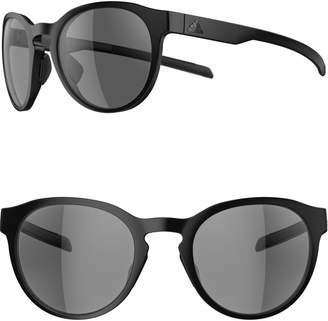 adidas Proshift 52mm Round Sport Sunglasses