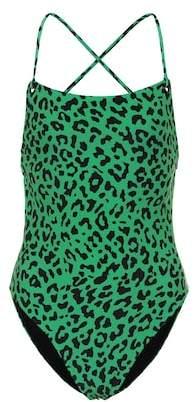 Diane von Furstenberg Leopard print swimsuit