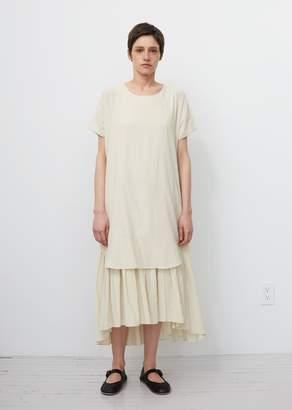 Black Crane Double Dress