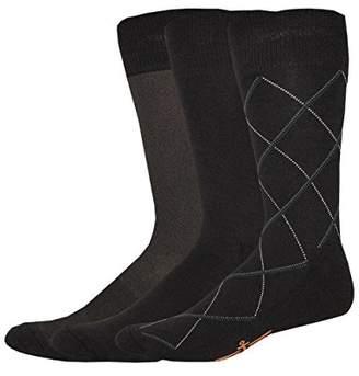 Dockers 3 Pack Cushion Dress - Ultimate Fit Bias Necktie Crew Socks