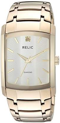 Relic Men's Raymond Quartz Stainless Steel Diamond Accent Watch