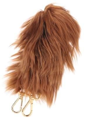 Fendi Alpaca fur bag strap