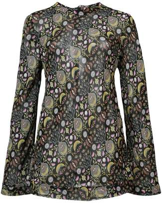 Chloé abstract print blouse