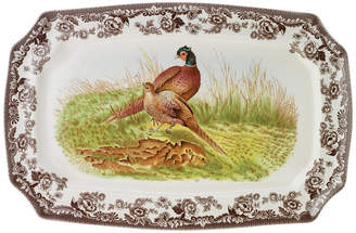 "Spode Woodland"" Pheasant Rectangular Platter, 17"""