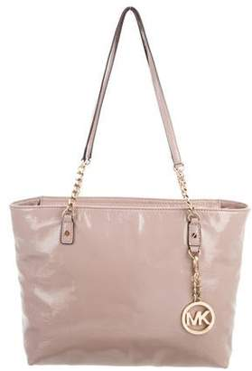 MICHAEL Michael Kors Patent Leather Tote Bag