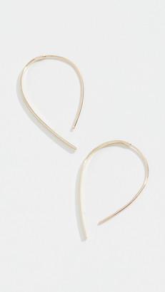 Lana Mini Flat Hooked On Hoop Earrings