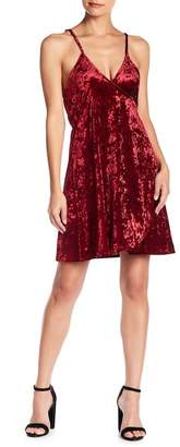 Somedays Lovin Some Days Lovin' Allure Velvet Wrap Dress