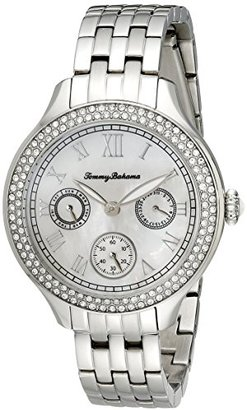 Tommy Bahama Women's 10018329 Waikiki Dream Multifunction Crystal-Accented Stainless Steel Watch $265 thestylecure.com