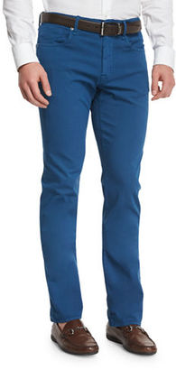 Incotex Ray Regular-Fit Five-Pocket Pants $395 thestylecure.com