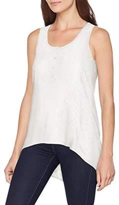 Fat Face Women's Penny Broderie Swing Longline T-Shirt, White