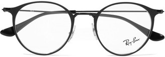 Ray-Ban - Round-frame Metal Optical Glasses - Black $175 thestylecure.com