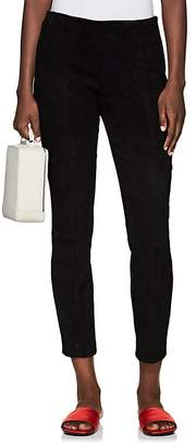 The Row Women's Cosso Skinny Suede Pants