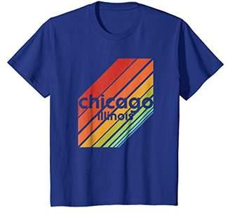 Chicago t shirt vintage retro style disco tee