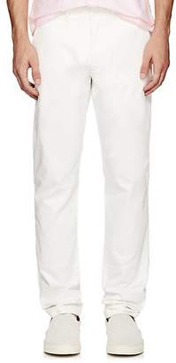 Tomas Maier MEN'S COTTON TWILL STRAIGHT-LEG TROUSERS