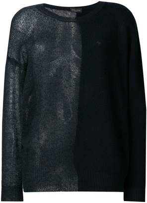 Roberto Collina sheer knit sweater