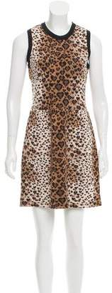 RED Valentino Leopard Pattern Dress w/ Tags