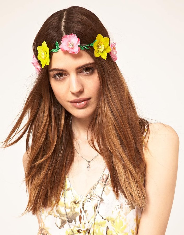 ASOS Daffodil and Pansy Garland
