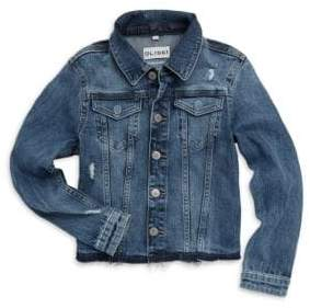 DL Premium Denim Girl's Manning Denim Jacket
