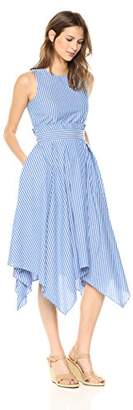 Tahari by Arthur S. Levine Women's Cotton Stripe Dress