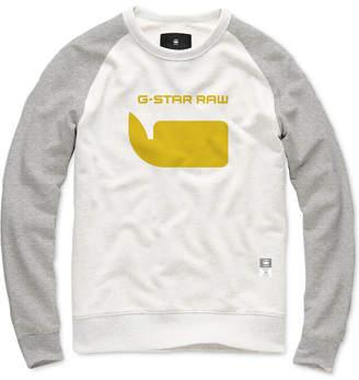 G Star Men Colorblocked Logo Sweatshirt