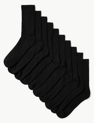 "Marks and Spencer 10 Pack Cool & Freshfeetâ""¢ Sports Socks"
