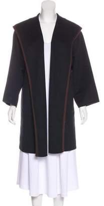 Michael Kors Open Front Hooded Coat