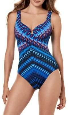 Miraclesuit Marrakech Escape One-Piece Swimsuit