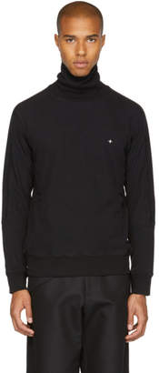Stone Island Black Cotton Turtleneck
